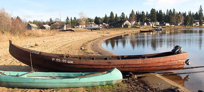 лодки карельские