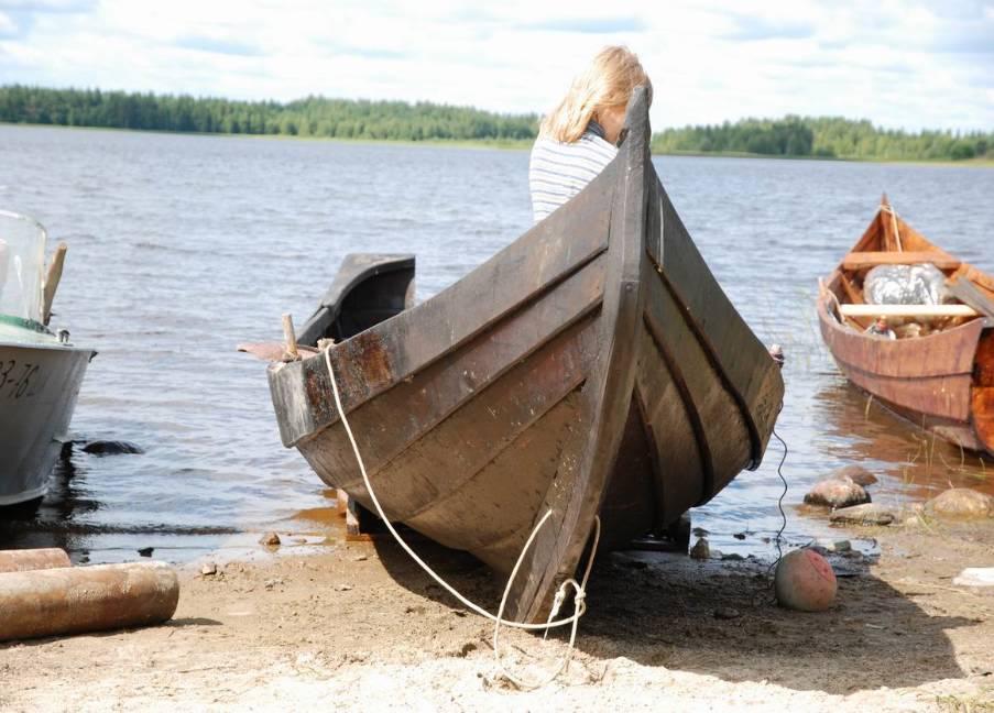 лодка гулянка деревянная